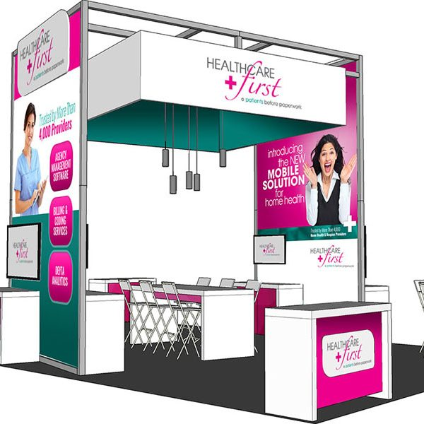 HEALTHCAREfirst Booth Design